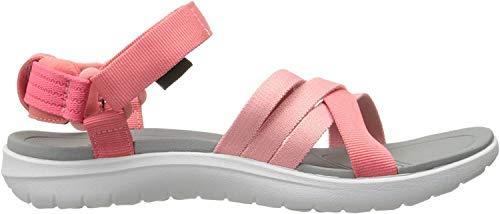 Teva Teva Damen W Sanborn Sport Sandalen, Pink (Rose Coral), 40 EU