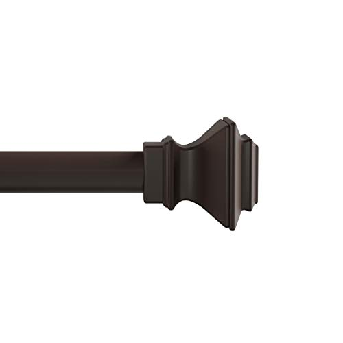 Lavish Home (Bronze 1-Inch Curtain Rod