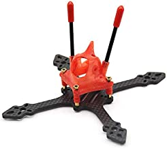 Usmile 115mm 3 inch Toothpick Micro Quad Carbon Fiber FPV Racing Quadcopter Drone Frame Support Maximum 3