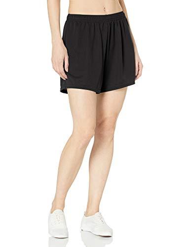 Augusta Sportswear Women's X-Large Wicking Mesh Short, Black