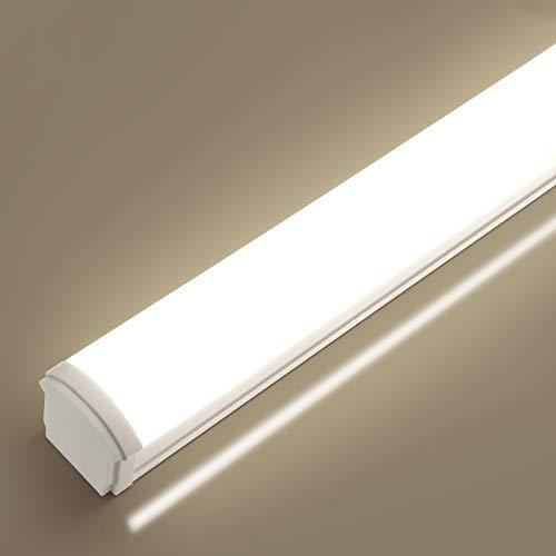 LED Feuchtraumleuchte 150CM,Oraymin 60W 6600LM Super Hell Werkstattlampe IP66 Wasserdichte Gartenlichter Deckenlampe Kellerleuchte,Neutralweiß 4000K Flimmerfreie Garagenbeleuchtung, 160 ° Beleuchtung