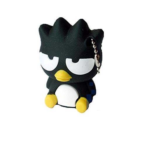 USB-Stick Flash Drive Stück Speicherstick Laufwerk USB2.0 PVC Cartoon Tragbar Lagerung Hohe Geschwindigkeit Sicherheit Vögel Creative Mode Klassisch Anime (4GB,Sitting Blackbird)