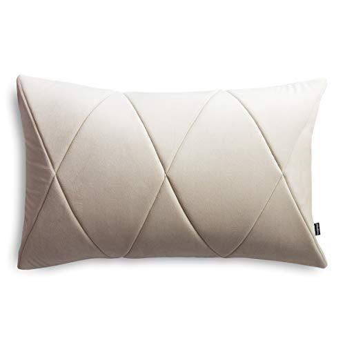Cojín con relleno y funda para sofá, diseño moderno y llamativo, 60 x 40 cm