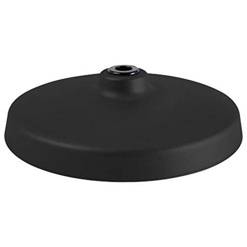 Luxo L-1 Tischfuß in Schwarz mit Filzboden für die flexible und schwenkbare Tischleuchte L-1 zur sicheren und mobilen Positionierung auf dem Schreibtisch im Büro, Arbeitstisch im Kreativraum oder in der Werkstatt