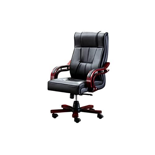 XYJHQEYJ Silla de Mesa de Oficina for el hogar Reclinador ergonómico, sillas de Oficina ejecutiva, Silla de Jefe de Vaca cómodo, Silla de Juego de computadora