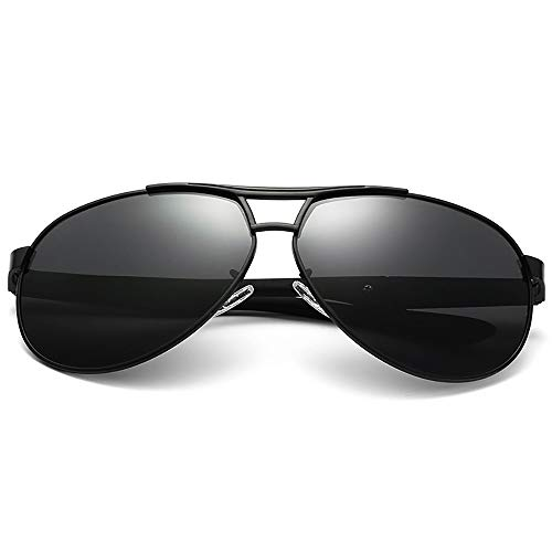 JIAGU Gafas de Sol de Estilo Gafas de Sol polarizadas for Hombres Gafas de Sol bicolores Que conducen Gafas de conducción (Color : 1/5, Size : Free Size)