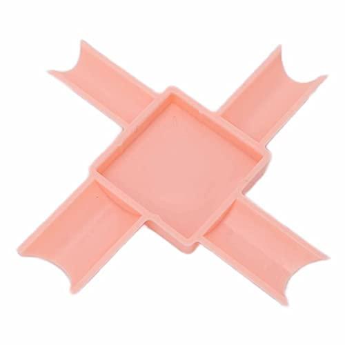 フレンチチップマニキュアペディキュアツール、DIYネイルの女性のために再利用可能なフレンチチップディップ頑丈