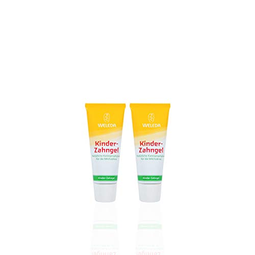 Weleda Duo Gel dentifrice enfant dents de lait 50mlX 2 soit 100ml