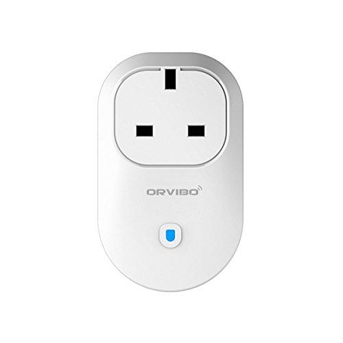 orvibo b25uk WLAN Smart Plug, Kompatibel mit Alexa, Kontrolle der Geräte von überall, No Hub erforderlich, Wireless Switch mit App