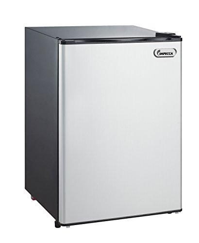 Impecca Compact Refrigerator and Freezer, Single Door Reversible Door Classic Refrigerator 4.4 Cubic Feet