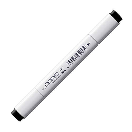 COPIC Classic Marker Typ - 110, special black, professioneller Layoutmarker, alkoholbasiert, mit einer breiten und einer feinen Spitze