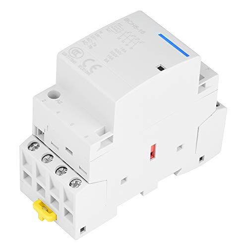 4P 2NO 2NC AC contactor 16A 24V 220V / 230V 50 / 60Hz Hogar Contactor AC Montaje en carril DIN(24V)