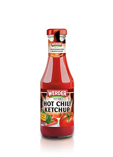 WERDER Hot Chili Ketchup 450 ml
