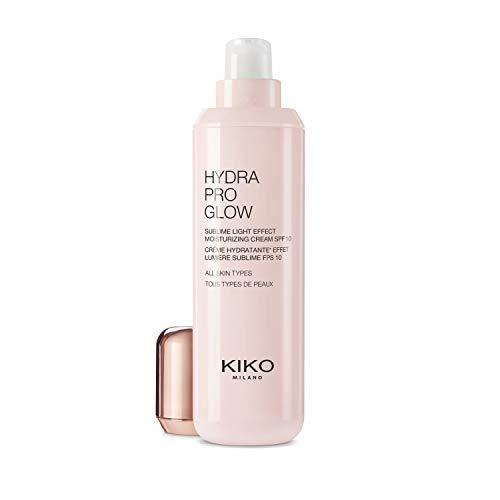 Kiko Milano Hydra Pro Glow Crema Hidratante Efecto Luz Sublime con Ácido Hialurónico SPF 10