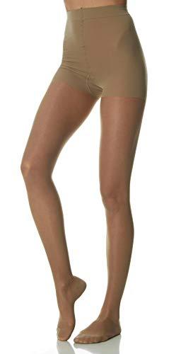 SCUDOTEX Collant 70 Deniers Maille Tricotée Compression Décroissante Moyenne 15-18 Hg mm Couleur Visone Taille 5