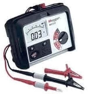 Megger MIT310-EN Insulation Tester 250V 500V 1kV Incl: Test Lead Set/Crocodile Clips