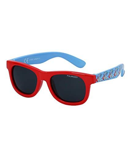 Kiddus Baby Sonnenbrille POLARISIERT Linsen für Jungen Mädchen. Ab 8 Monaten. Mit flexiblen Beinen. UV400 100% UVA- und UVB-Schutz. Sicher, komfortabel und stoßfest. LITTLE KIDS (25 Rock)