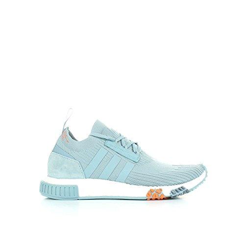 Adidas NMD _ Racer PK W–Sneaker, Mädchen, grau (gricen/tinazu/Ftwbla)