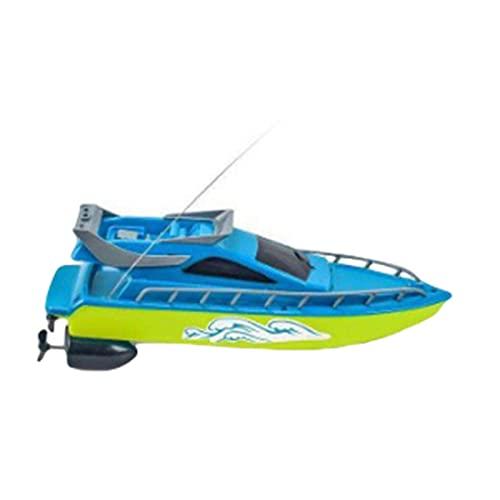 Gidenfly Barcos de carreras con mando a distancia para piscinas y lagos, barca electrónica de alta velocidad con mando a distancia para jardín, juguete de agua para niños y niñas a partir de 6 años
