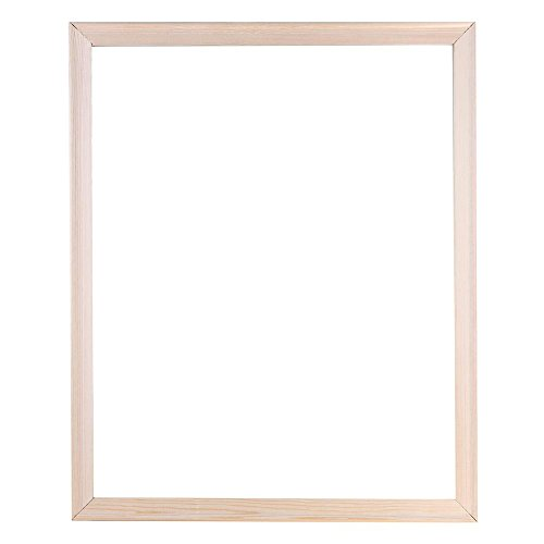 prosperveil Holzrahmen Leinwand Keilrahmen für DIY Leinwand Ölgemälde Diamant Malerei Handwerk Wandkunst Bilder Rahmen 40,6 x 50,8 cm