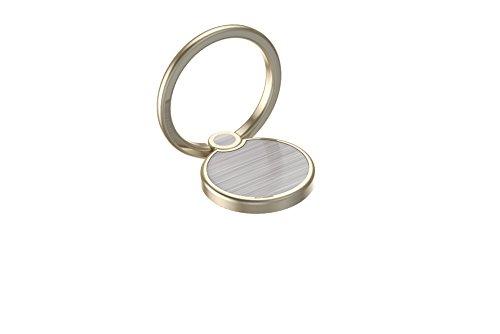Creols Handy Ring Smartphone Halter, Fingerhalter, Halterung für alle Mobiltelefone, Metal, Magnetisch 360 Grad 0001 - Gold