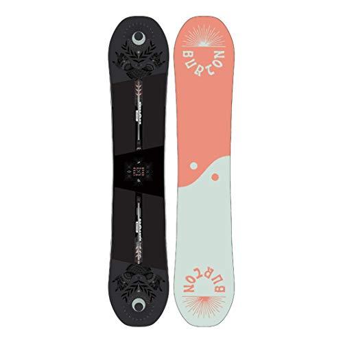 Burton Rewind - Tabla de snowboard para mujer, talla 152, color negro