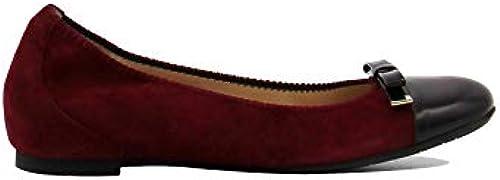 GUGLIELMO ROTTA , Damen Damen Damen Ballerinas Rot Bordeaux  Heute online einkaufen