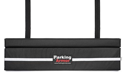 PARKING ARMOR 4.8 - (48' Wide x 12' Tall) Indoor/ Outdoor Ultimate Rear Bumper Protector, Steel...