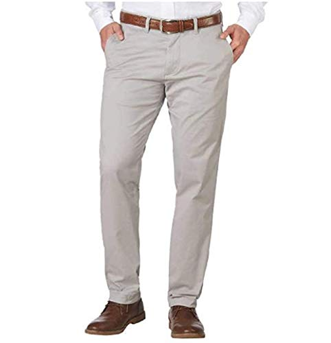 Tommy Hilfiger Mens Tailored Fit Chinos Pants (36x32, Gray)