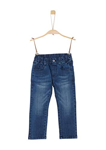 s.Oliver Jungen Regular Fit: Straight leg-Denim dark blue stretche 140.REG