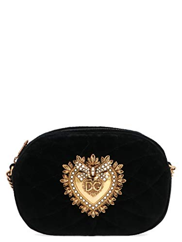 Dolce E Gabbana Borsa A Spalla Donna Bb6704aa09080999 Pelle Nero