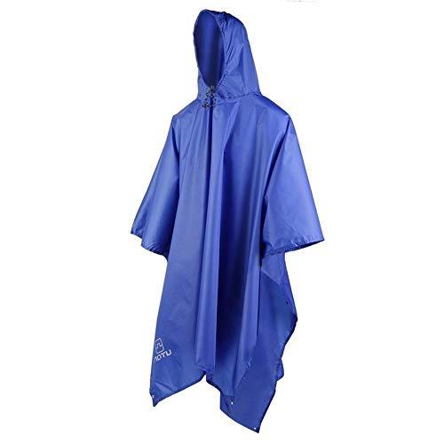 ZWYM wasserdichte Regenmantel Frauen Outdoor Reisen Regen Poncho Jacken Rucksack Regenhülle Tragetasche Poncho Kinder Jungen Mädchen Kinder Drops-DOutdoor wasserdichte Jacken