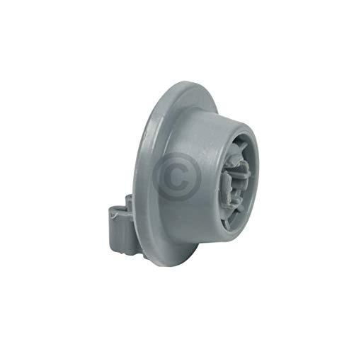 Rodillo de repuesto para cesta inferior Bosch 00611475 con soporte para ruedas, rueda de 15 x 34 x 34 mm, accesorio para cesta inferior de lavavajillas de Bosch Siemens