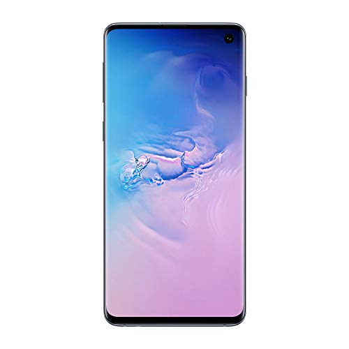 Samsung Galaxy S10 128GB / 8GB RAM SM-G973F Hybrid/Dual-SIM (GSM Only, No CDMA) Factory Unlocked 4G/LTE Smartphone - International Version (Prism Blue)