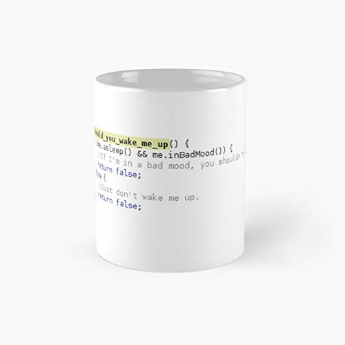 C Funny Programming - Developer Joke Classic Mug Gift The Office 11 Ounces Funny White Coffee Mugs-nilinkep