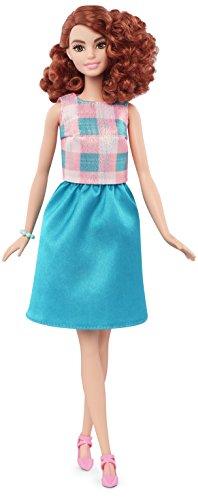 Barbie Fashionistas - Muñeca, Turquesa fantástico (Mattel DMF31)