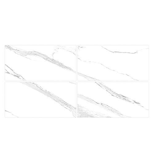 XUNXI Calcomanía de Pared, 4 Piezas, Impermeable, Adhesivo para Pared, Papel Tapiz, Cristal, mármol, Azulejos, Pegatinas Autoadhesivas