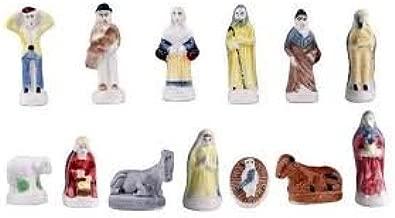 Figuras especiales para el roscón de Reyes, tipo santón de Provenza – 100 unidades: Amazon.es: Hogar