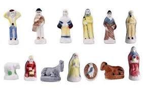 Figuras especiales para el roscón de Reyes, tipo santón de Provenza – 100 unidades