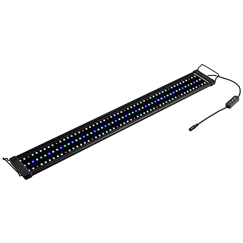 NICREW ClassicLED Plus Planted Aquarium Light, Full Spectrum LED Fish Tank Light for Freshwater Plants, 36 to 48 Inch, 27 Watts
