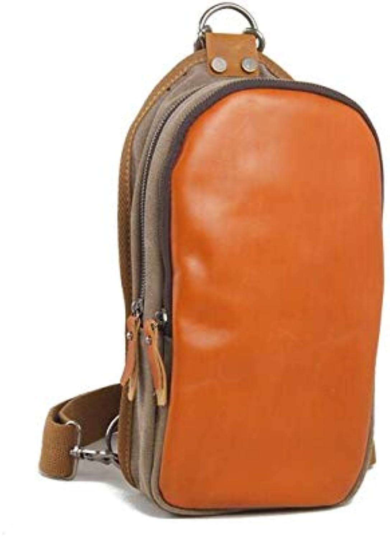 Payonr Schultertasche Herren Brusttasche Multifunktions Outdoor Sports Umhängetasche Mode Schulter Schulter Schulter Messenger Rucksack (Hellgrün) B07P17LY1B  eine große Vielfalt 42bd5c