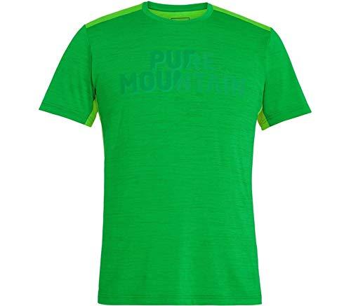 Salewa Herren T-Shirt Puez Hybrid 2 Dry grün (400) 48