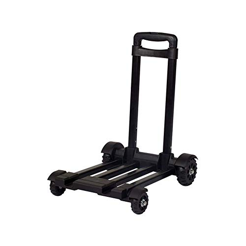 Tokyia Folding Hand Truck, Utility Cart Compact and Lightweight for Luggage, Personal, Travel, Auto, Moving and Office Use Transportation