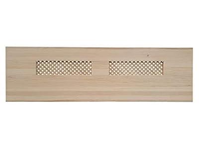 materiales: madera maciza de pino insigni medidas: 145 x 44 x 3 (ancho,alto,grueso acabado: crudo sin pintar cabecero de una pieza con anclajes para la pared