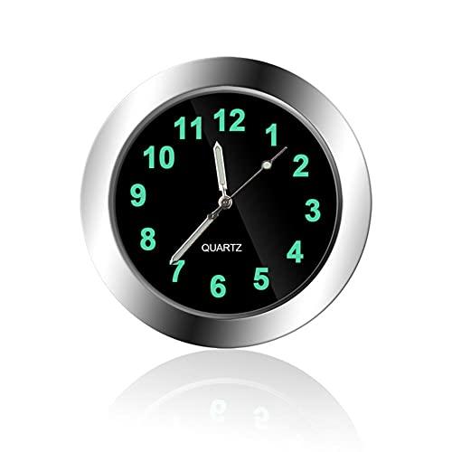 Reloj de Cuarzo con Salpicadero Automóvil,Reloj Impermeable de Ventilación de Aire para Coche Ventana de Nevera Cocina Relojes Luminosos