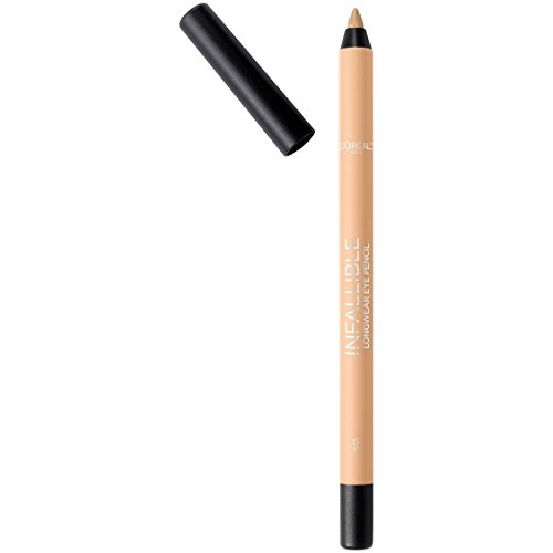 L'Oreal Infallible Pro-Last Waterproof Pencil Eyeliner, Nude 0.042 Ounce (1 Count)