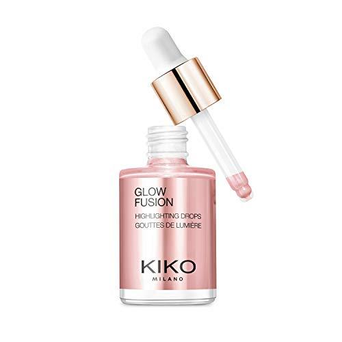 KIKO Milano GLOW FUSION HIGHLIGHTING DROPS 01 | Iluminador líquido para el rostro con acabado metálico