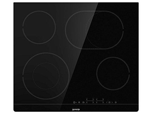 Gorenje ECT 643 BSC Kochfeld Elektro/ 60 cm/Zweikreiszone/Bräterzone/TouchControl/Timer/Rahmenlos