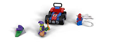 Product Image 2: LEGO Marvel Spider-Man Car Chase 76133 Building Kit, Green Goblin and Spider Man Superhero Car Toy Chase (52 Pieces) (Discontinued by Manufacturer)