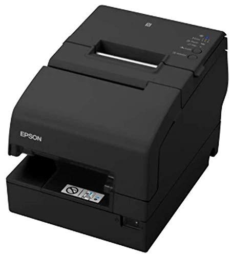 Epson TM H6000V-204P1 Belegdrucker - Thermodrucker Line/Matrix - 230 x 297 mm Rolle (7,95 cm) - 180 x 180 DPI - 9 Pin - bis 350 mm/Sekunde - USB, LAN, Serie, NFC, USB 2.0 Host - schwarz